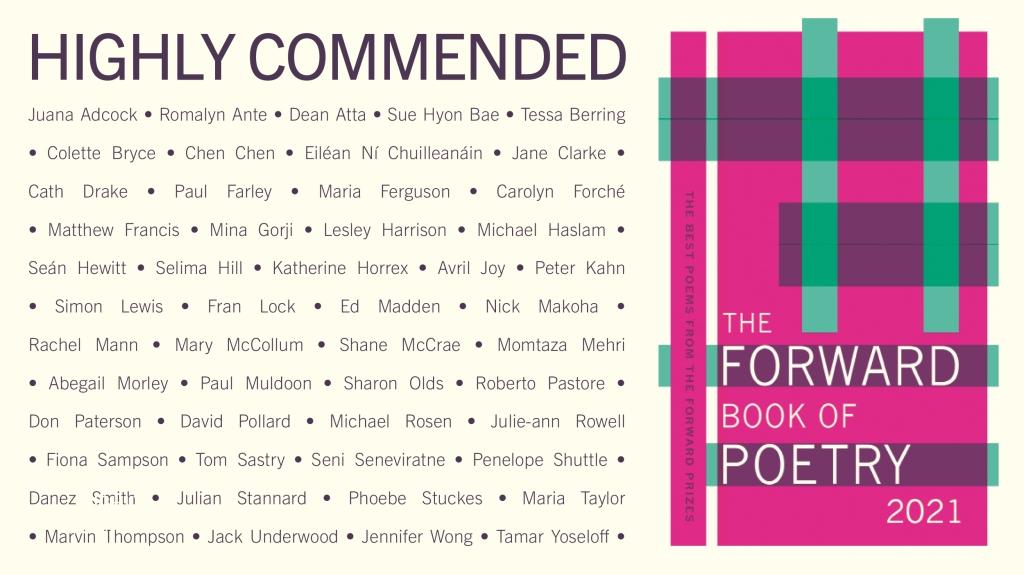 Maria Ferguson | Forward Prizes 2020